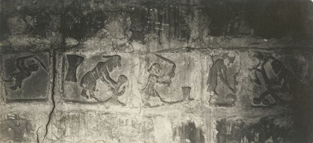 Stone Carvings at St Wilfrid's Church, Main Street, Calverton,