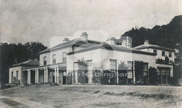The Hall, Calverton, c 1908