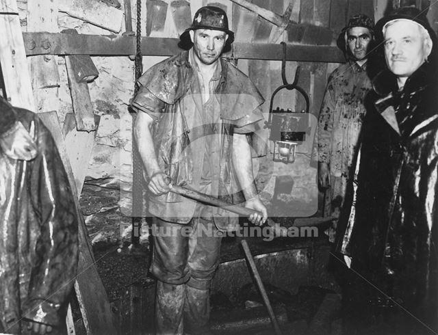 No 2 Shaft at Calverton Colliery, Calverton, c 1948