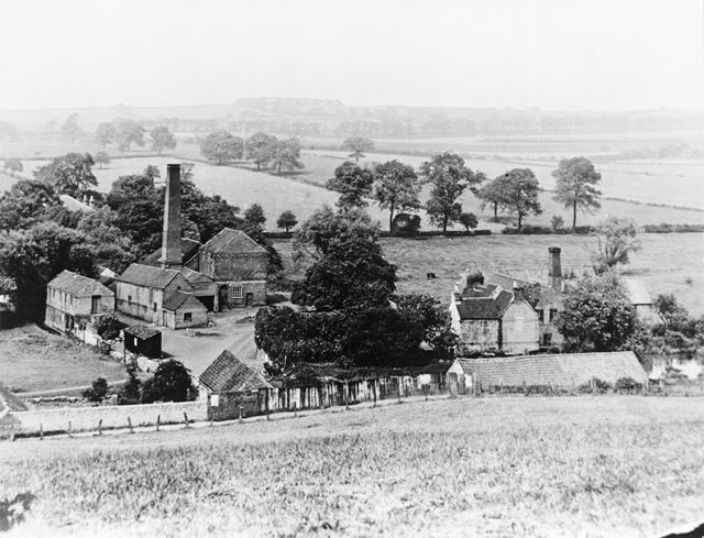 Farrands Mill and the Day Brook, Basford, Nottingham, c 1930s ?