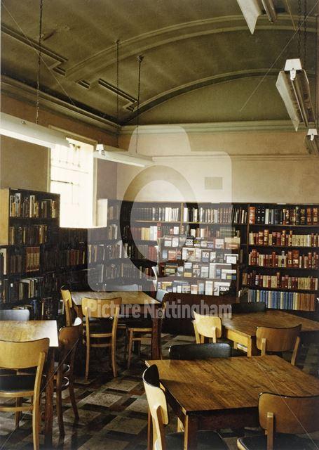 Interior Reference Library, Market Street, Ilkeston, 1966