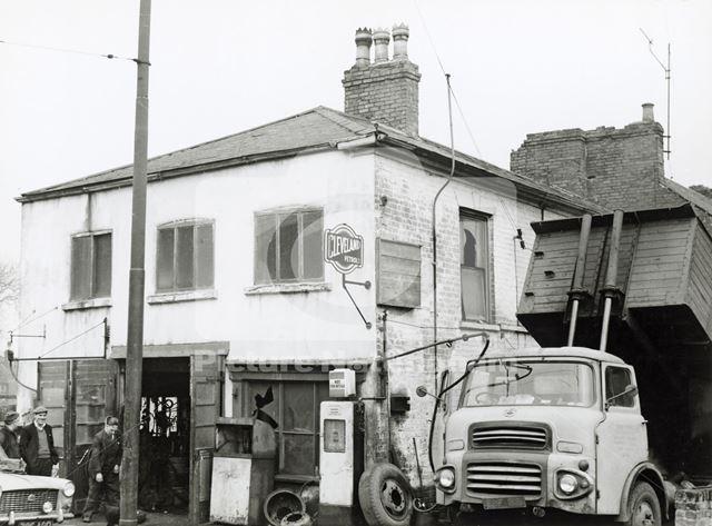 Widdowson's Garage, Cowley Street, Basford, Nottingham, c 1970 ?