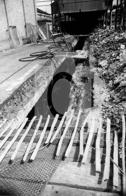 Tar Well, Basford Gas Works, Radford Road, Basford, 1976