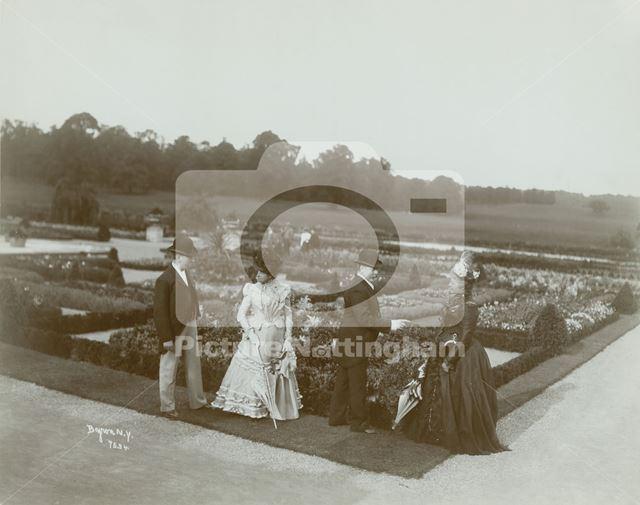 Garden Party at Welbeck Abbey, Welbeck, 1889