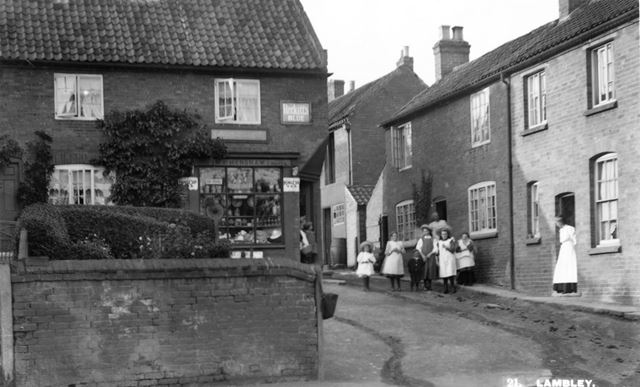 Village Shop, Main Street, Lambley, 1910-1914