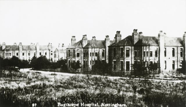 Bagthorpe Infirmary (City Hospital), North Road, Sherwood, Nottingham, c 1910