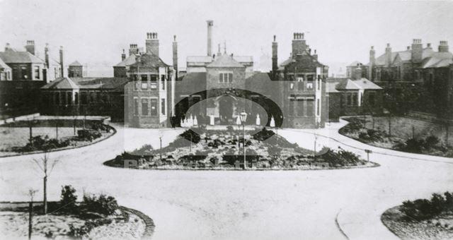 Bagthorpe Infirmary (City Hospital), St. Francis Way, Sherwood, Nottingham, c 1910