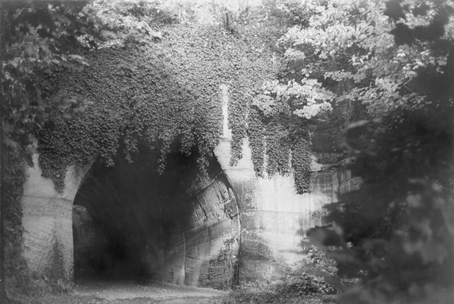 Park Tunnel, Tunnel Road, The Park, Nottingham, 1975