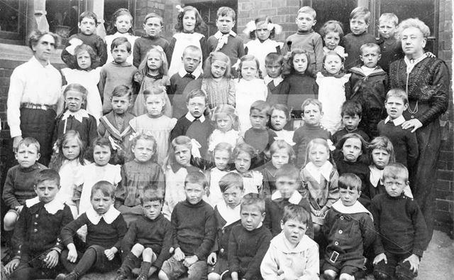 Basford Infants Council School, Basford, c 1915