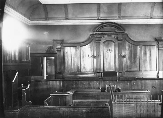 Old Town Hall Magistrates Court, Weekday Cross, Lace Market, Nottingham, 1894
