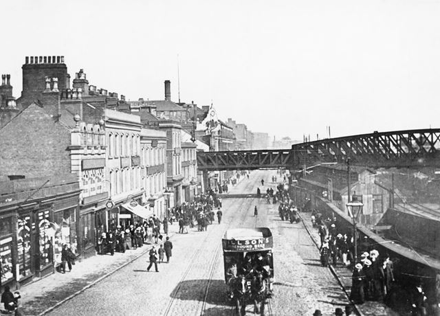 Station Street, Nottingham, c 1900s