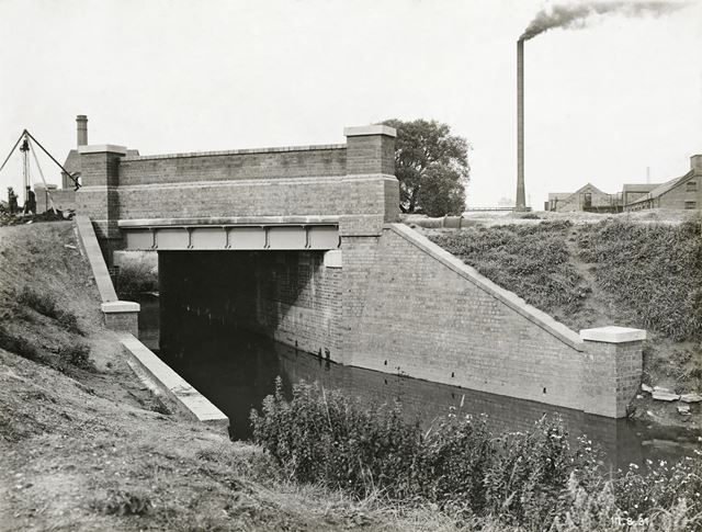 Bobbers Mill Bridge, Bobbers Mill, Nottingham, 1931