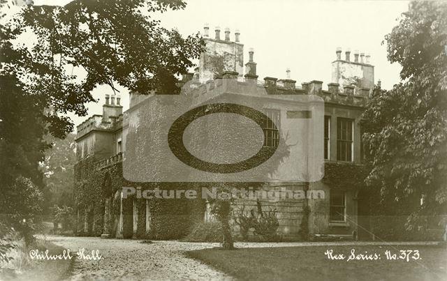 Chilwell Hall, off Farm Road, Chilwell, c 1920