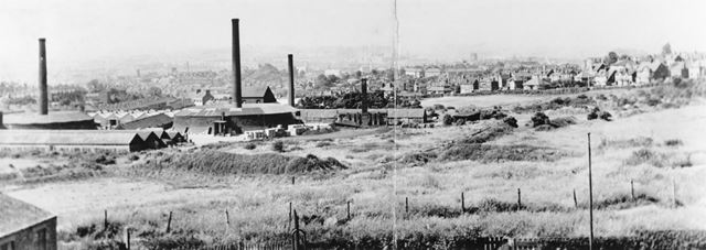 View Towards Porchester Road, Standhill Road, Carlton, c 1930s