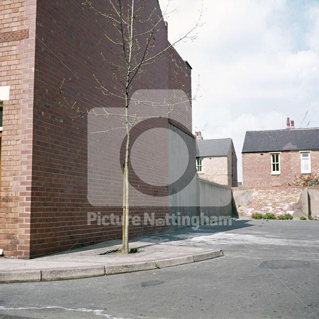 Minerva Street, Bulwell, Nottingham, c 1970s