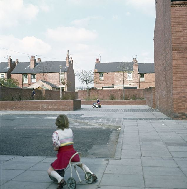 Children Playing, Minerva Street, Bulwell, Nottingham, c 1970s