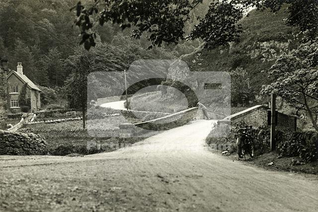 Dove Cottage, Lode Lane, Milldale, c 1910s