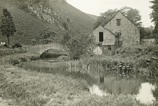 Lode Mill, Lode Lane, River Dove, Milldale, c 1910s