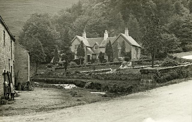 Dove Cottage and Lode Mill, Lode Lane, Milldale, c 1910s