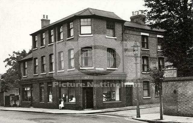 Abbey Street, Dunkirk, Nottingham, 1950