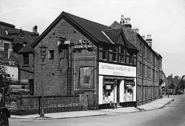 Nottingham Co-Operative Society, Abbey Street, Dunkirk, Nottingham, 1950