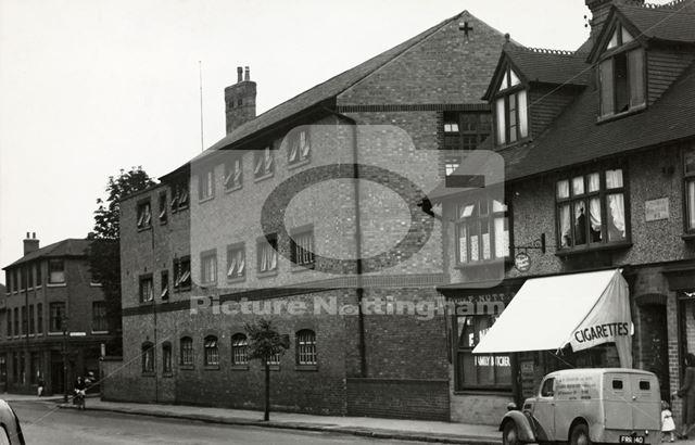 Nazareth House, Abbey Street, Dunkirk, Nottingham, 1950