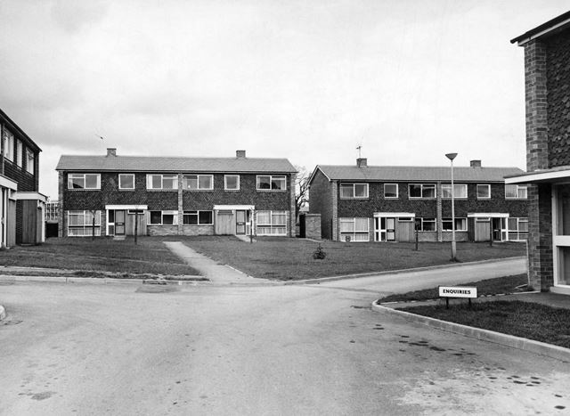 Residences of Clifton College, College Drive, Clifton Lane, Clifton, Nottingham, c 1970