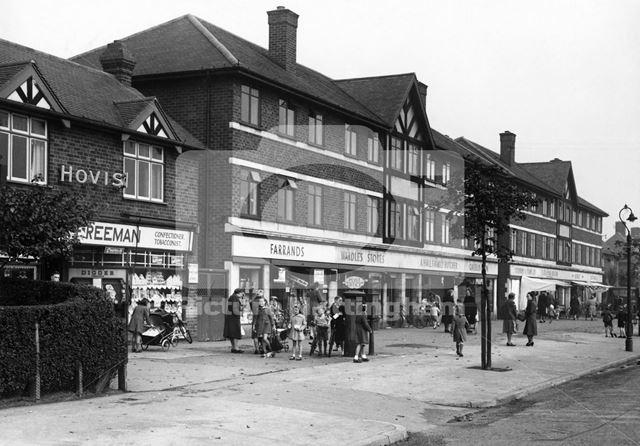 Nos 166 to 192 Broxtowe Lane, Broxtowe, Nottingham, 1949