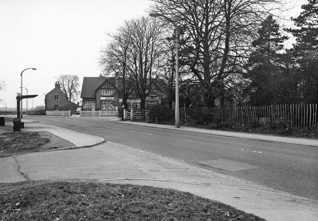 Clifton Lane View to Junction with Ruddington Lane, Wilford, Nottingham, 1963