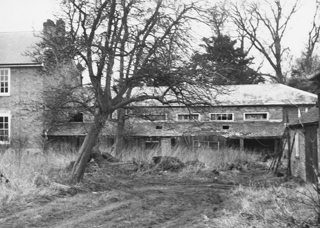 Old Stable Block, Home Farm, Yew Tree Lane, Clifton Village, Nottingham, c 1980