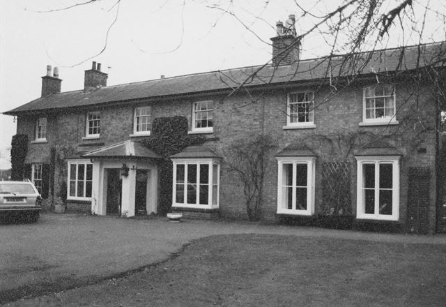 Yew Tree Lodge (Formerly Grange), Nethergate, Clifton Village, Nottingham, 1983