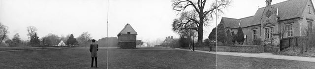 Panoramic View of The Green, Village Road, Clifton Village, Nottingham, c 1960