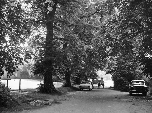 Entrance to Clifton Hall, Clifton Hall Drive, Clifton Village, Nottingham, 1969