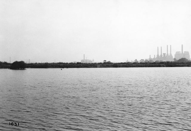 Wilford Power Station, River Trent, Wilford, Nottingham, 1951