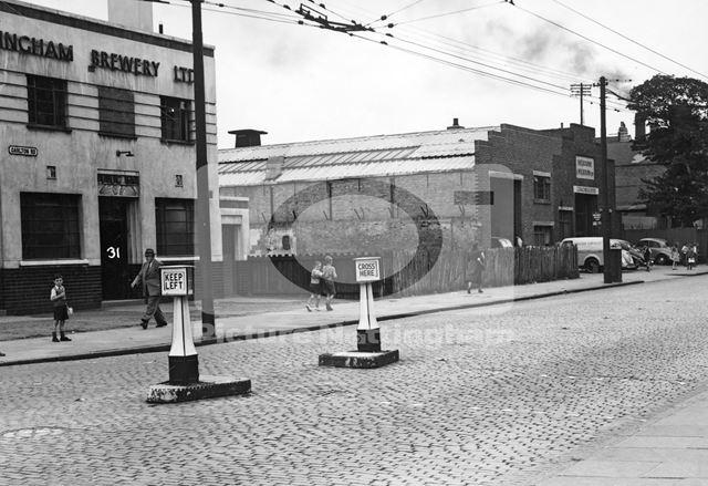 Former White Lion PH, Carlton Road, Nottingham, 1950