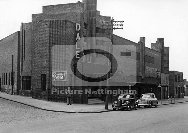 Dale Cinema, Sneinton Dale, Sneinton, Nottingham, 1951