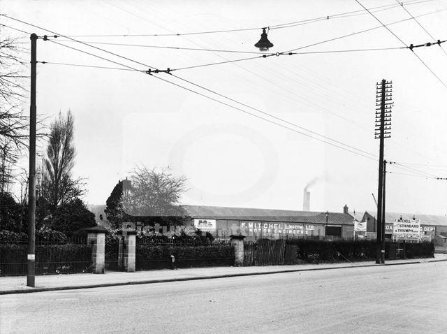 William Woodsend Memorial Home, Derby Road, Nottingham, 1949