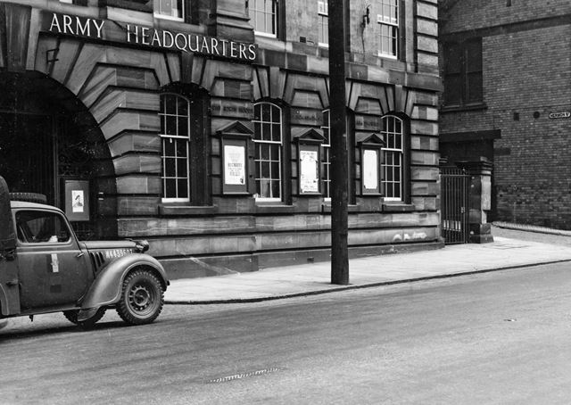 (Former) Territorial Army Headquarters, Derby Road, Nottingham, 1949