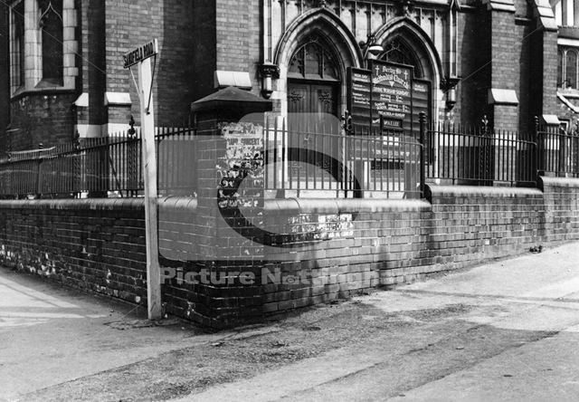 Lenton Methodist Church, Derby Road, Nottingham, 1949