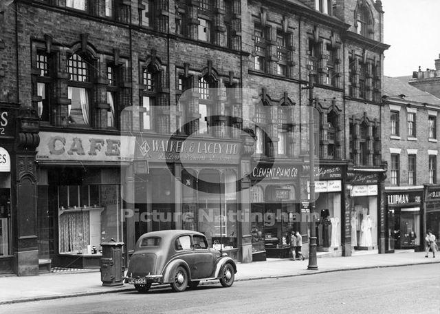 68-78 Derby Road, Nottingham, 1949