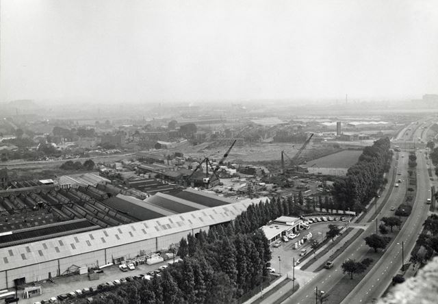 Aerial View of Site of QMC Looking West, Clifton Boulevard, Lenton, Nottingham, 1967