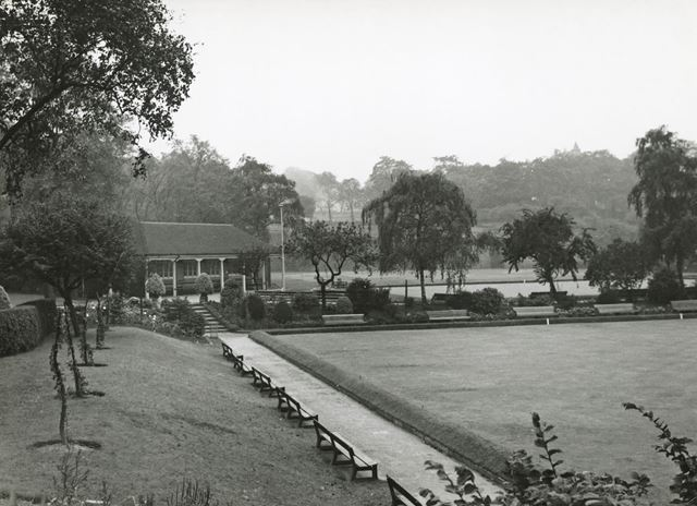 Bowling Green, Gregory Boulevard, Hyson Green, Nottingham, 1956