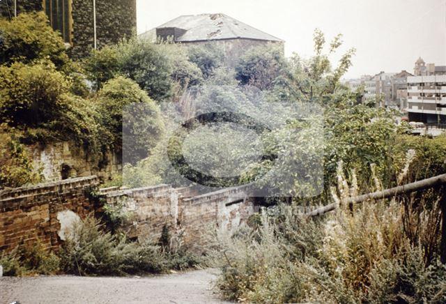 Garners Hill, Lace Market, Nottingham, c 1970s