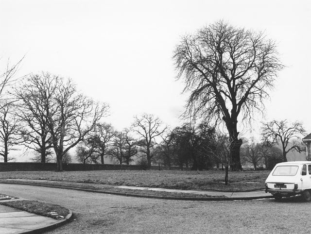 Hirst Crescent Looking to Wollaton Park, Wollaton, Nottingham, 1977