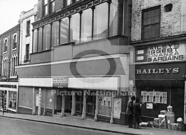 16 Carlton Street, Nottingham, c 1970s
