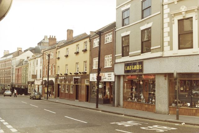 View Down Carlton Street, Nottingham, c 1980s