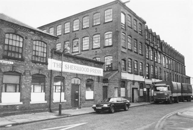 Newdigate Street, Radford, Nottingham, 1983