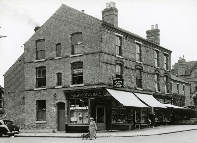 Mansfield Road Looking North from Daybrook Street, Sherwood, Nottingham, 1951