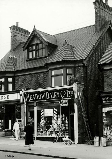 Judge's and Meadow Dairy, Mansfield Road, Sherwood, Nottingham, 1951