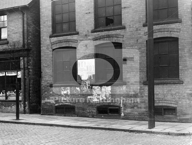 285 (left) Ilkeston Road, Radford, Nottingham, 1949